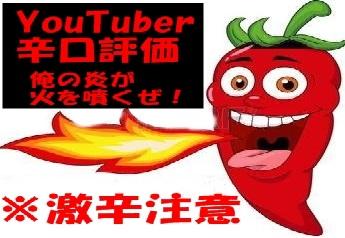 YouTuber辛口評論